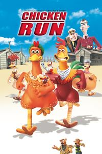 Affiche : Poulets en fuite