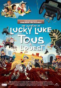 Affiche : Tous à l'ouest : Une nouvelle aventure de Lucky Luke
