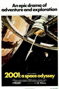 Affiche : 2001 : L'odyssée de l'espace