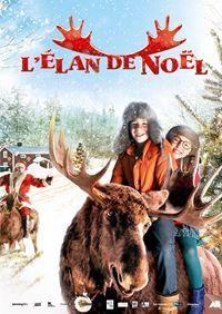 Affiche : L'élan de Noël
