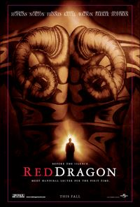Affiche : Dragon rouge