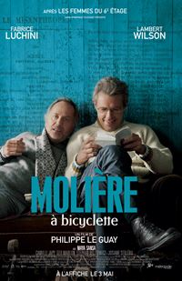 Affiche : Molière à bicyclette