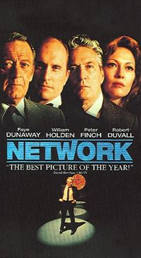 Affiche : Network : main basse sur la TV
