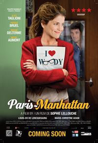 Affiche : Paris-Manhattan