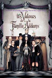 Affiche : Les valeurs de la famille Addams