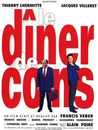 Affiche : Le dîner de cons