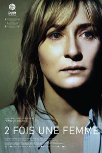 Affiche : 2 fois une femme