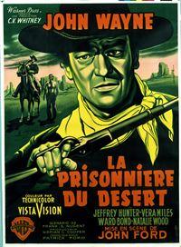 Affiche : La prisonnière du désert