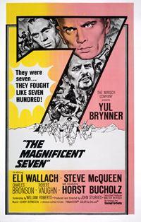Affiche : Les sept mercenaires