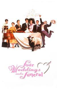 Affiche : Quatre mariages et un enterrement