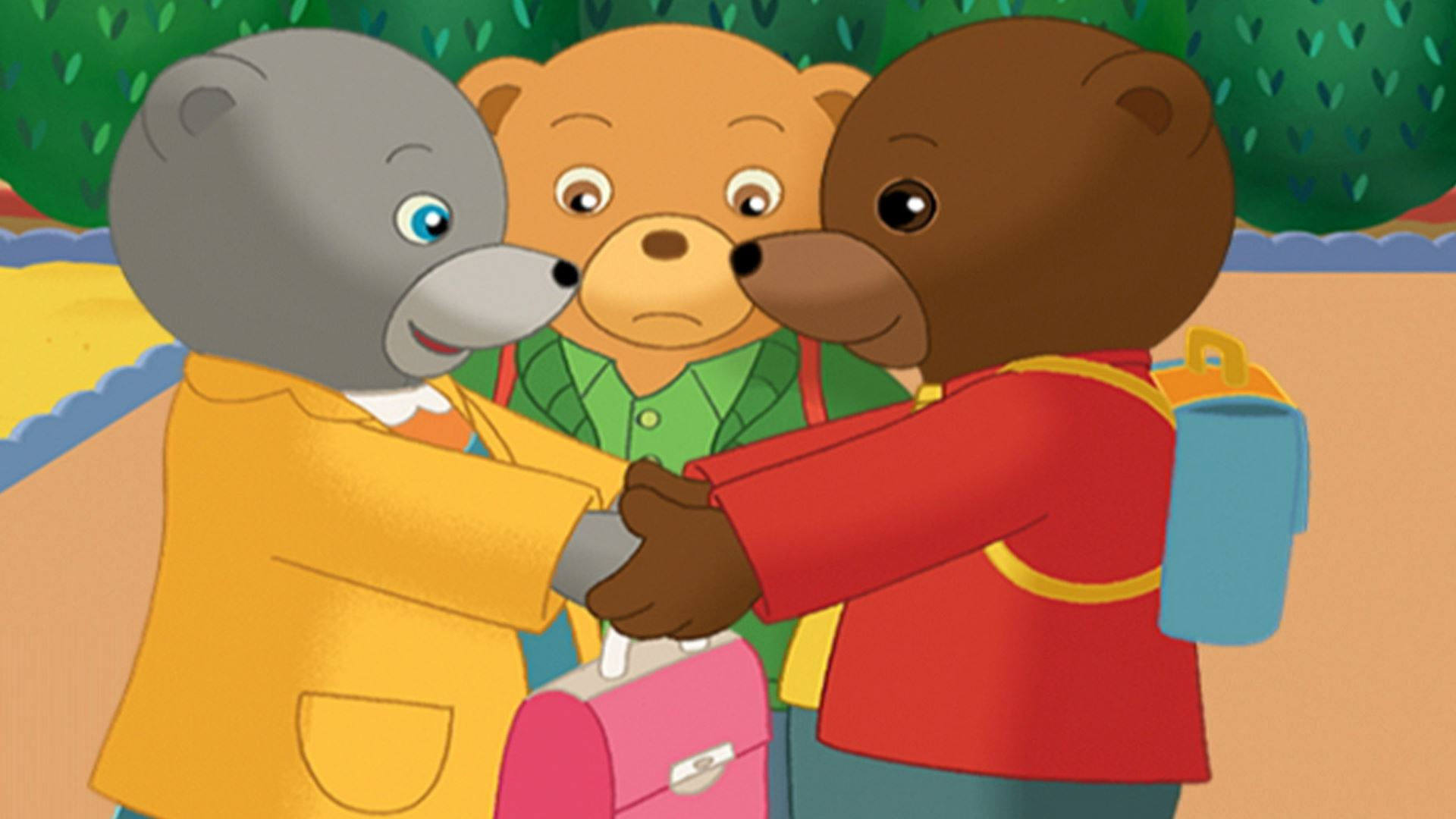 Les aventures de petit ours brun t l qu bec - Petit ours brun et sa maman ...