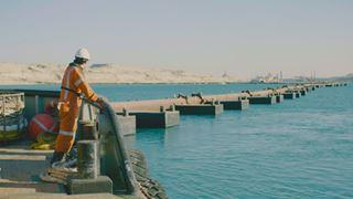 2014, le canal de Suez est le théâtre de gigantesques travaux