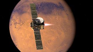 Fascinante planète rouge!