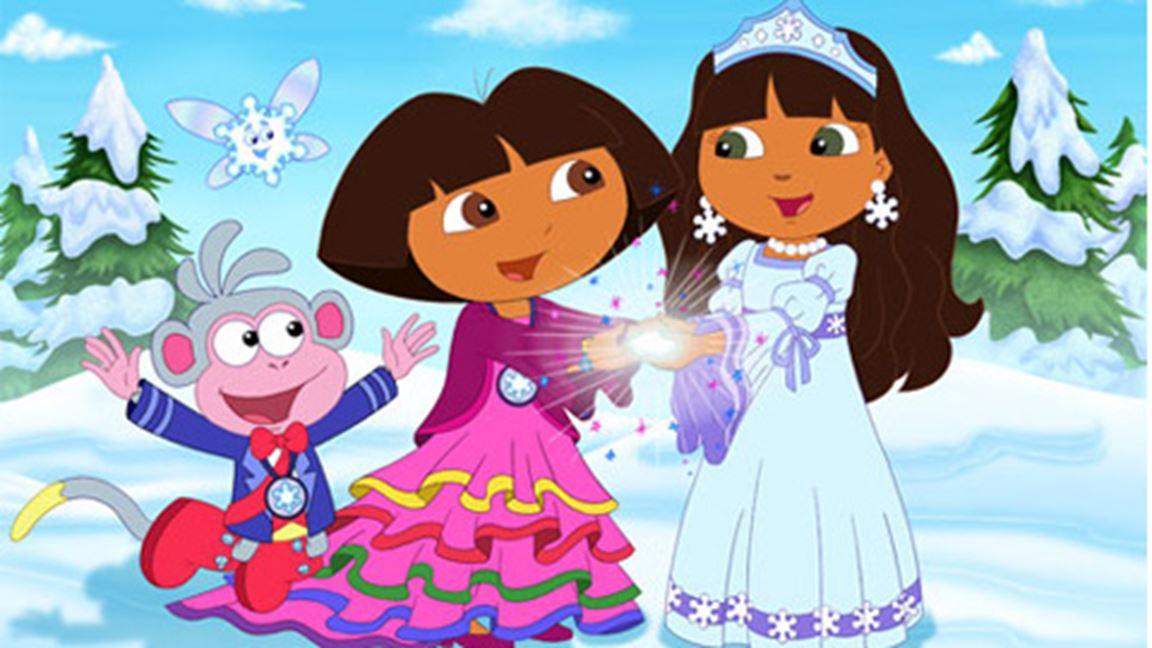 Dora et la princesse des neiges cin ma t l qu bec - Dora princesse des neiges ...
