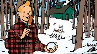 Tintin, la poutine et les cabanes à sucre