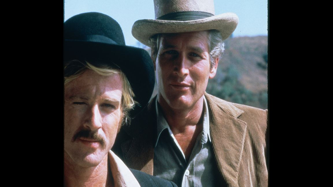 Robert Redford et Paul Newman bandits du Far West!