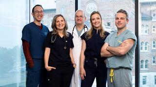 Le quotidien de médecins dans un hôpital de haut calibre