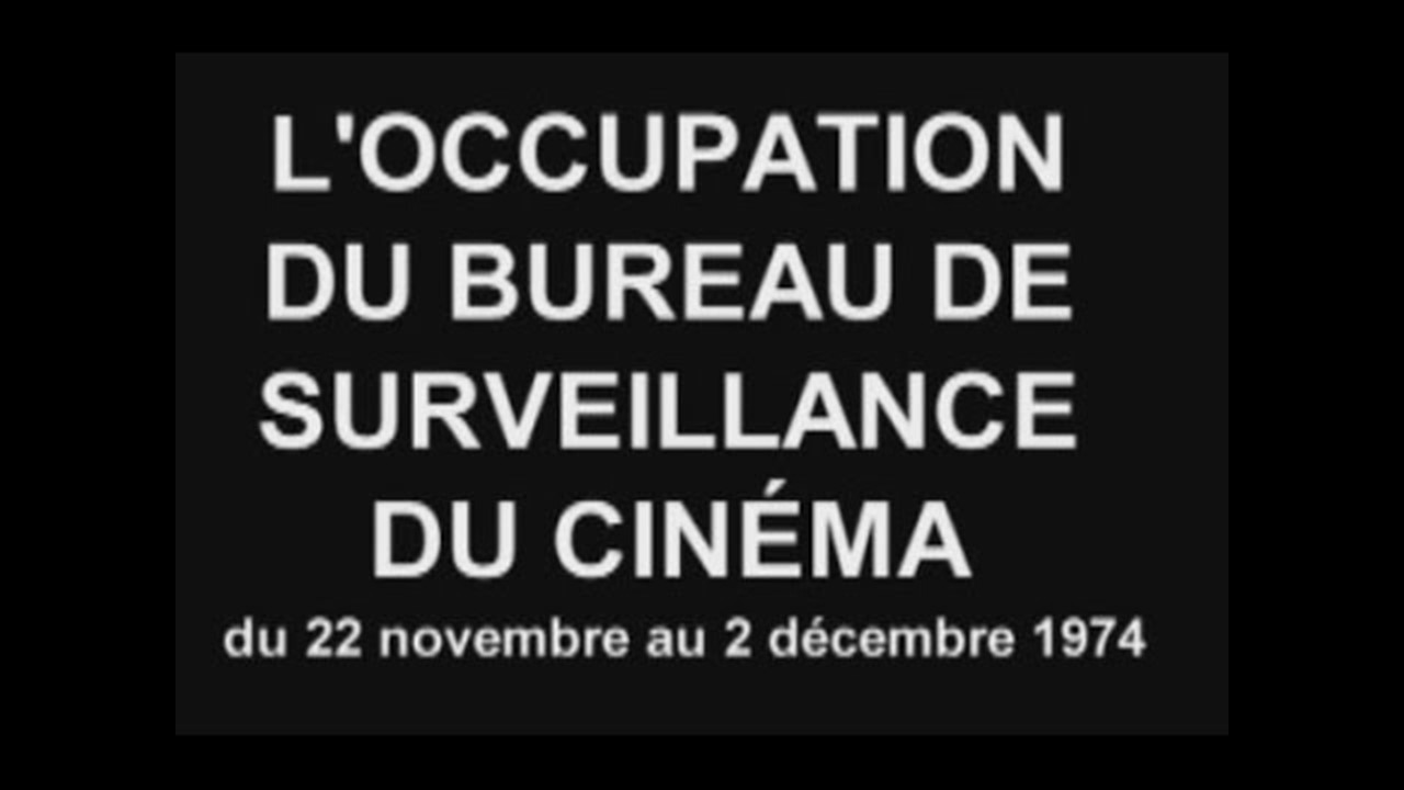 L 39 occupation du bureau de surveillance du cin ma vid os - Bureau d immigration du quebec a paris ...