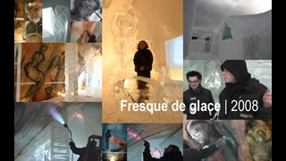 Fresque de glace | peinture-en-direct |