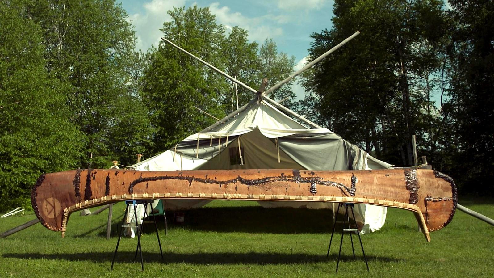 Le canot Anishinabeg traditionnel | Vidéos | La Fabrique culturelle