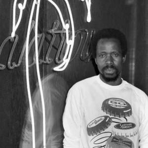 Lamine Touré en 1987, Archives Nuits D'Afrique