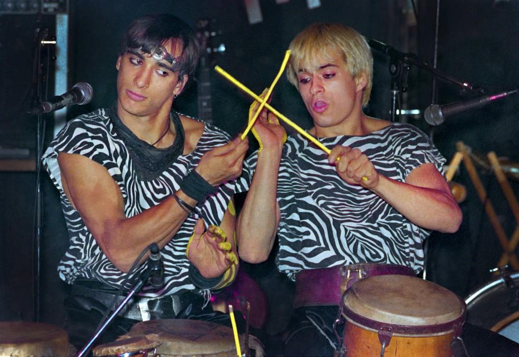 Spectacle du duo Umayok au Balattou en 1987 / Archives Nuits d'Afrique