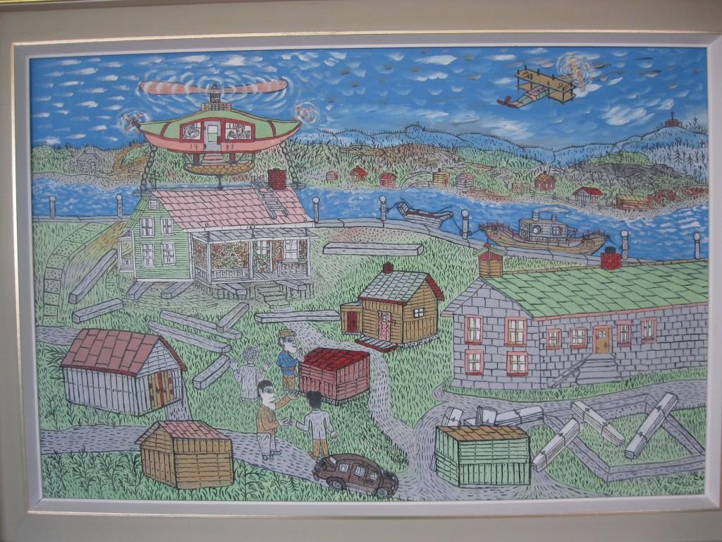 Huile sur toile 61 cm x 91,4 cm Collection de l'Université du Québec à Chicoutimi