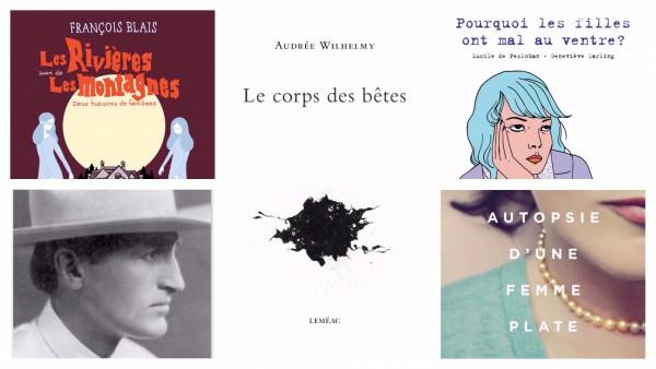 Lectures #LaFab: cinq titres inspirants pour l'automne