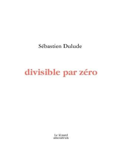 Divisible par zéro