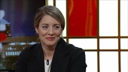 Marie-France Bazzo reçoit la ministre du Patrimoine canadien Mélanie Joly'