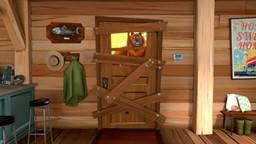 Les Lemmings ont réquisitionné la cabane du Ranger pour faire la fête!'