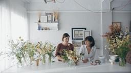 Quand l'art floral et la céramique inspirent du beau… et tout un mode de vie!'