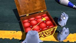 Les Lemmings trouvent une baguette magique.'