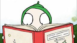 Sarah et Couac trouvent des graines dans un journal et les plantent pour savoir ce qui va pousser.'