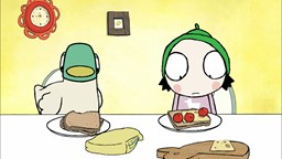 Sarah et Couac livrent le pain à la place du boulanger.'