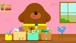 Le gros chien Oua-Oua anime le Club des P'tits Loups, un centre d'activités extrascolaires.'