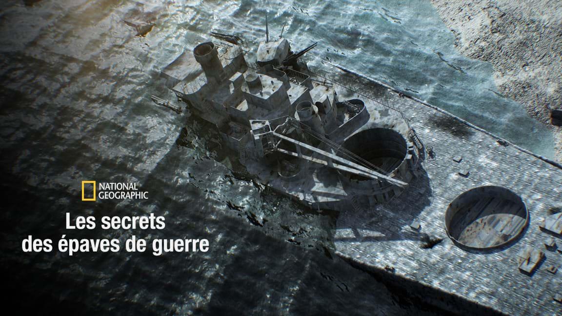 Les secrets des épaves de guerre