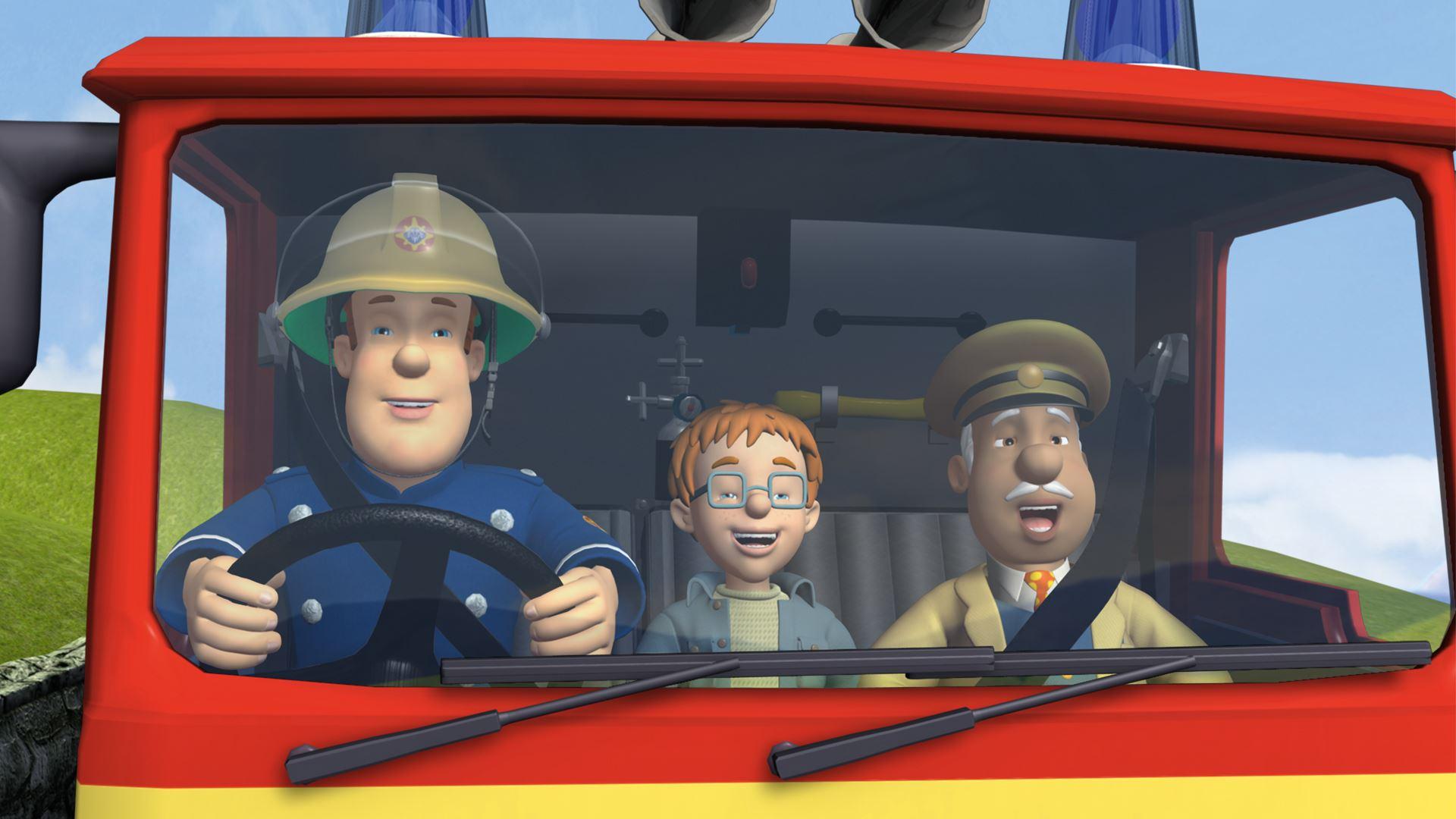 Une surprise de no l no lissime t l qu bec - Sam le pompier noel ...