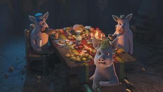 L'histoire des trois petits cochons… version Halloween!