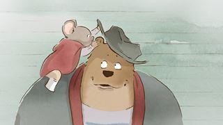 L'histoire extraordinaire d'une rencontre entre un ours et une souris