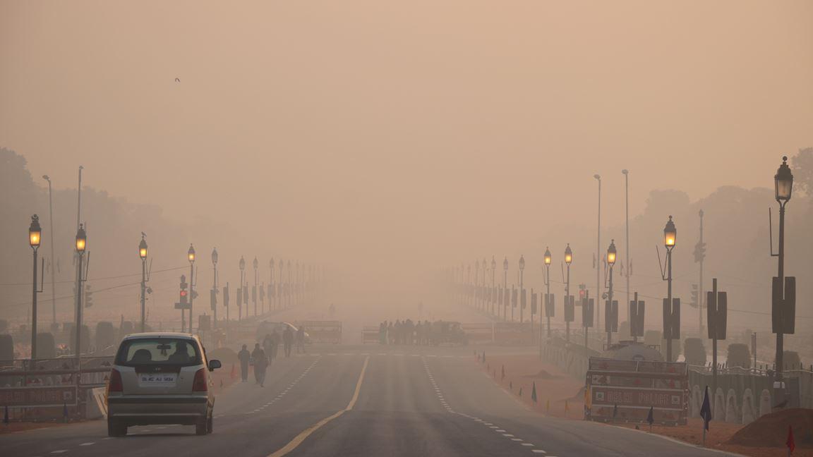 Le fléau de l'air pollué